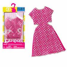 Kleid mit Glanz Print | Barbie | Mattel DWG08 | Trend Mode Puppen-Kleidung