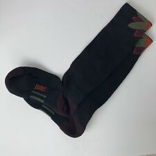 POINT6 Womens Socks Small 4 to 6.5 Wool Blend Extra Light Cushion Black