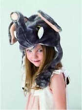 Kids Cute Animal Hat Fancy Dress Play time Dress up Warm Fun Boy Girl Elephant