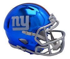 NFL New York Giants Chrome Alternate Speed Mini Helmet Unisex Fanatics