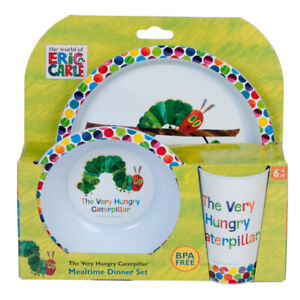 The Very Hungry Caterpillar 3pc Dinner Set