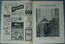 L'ILLUSTRATION 3266 DU 30/9/1905 TROUBLES BAKOU CONGO FRANCAIS SEISME CALABRE
