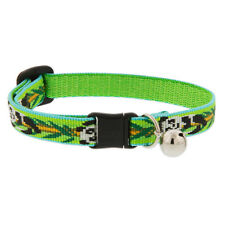 Lupine Cat Collar 12mm Wide With Bell and Safety Release Buckle Asst Patterns Panda Land