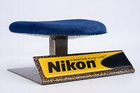 Vintage Nikon Padded Camera or Lens Camera Store Shop Display Stand V19