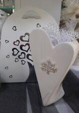 Bomboniera Matrimonio Vaso Cuore ceramica Albero Harmony Confezionato completo