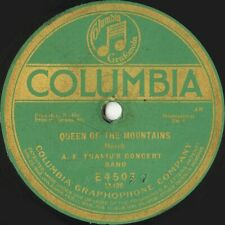 A F Thaviu Concert Band 'Queen of the Mountains/OnTip..'Columbia E4504 10' 78rpm