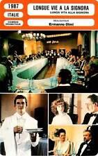 FICHE CINEMA : LONGUE VIE A LA SIGNORA - Esposito,Brandalise,Olmi 1987