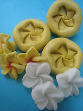 Plumeria Flower 3 set Silicone Molds Gumpaste Fondant Cake Chocolate clay 40A