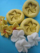 Plumeria Flower 3 set Silicone Molds Gumpaste Fondant Cake Chocolate clay 40A