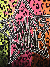 NWT JUSTICE GIRLS DRESS SIZE 10 ANIMAL PRINT, SEQUINS, BRIGHT COLORS