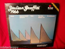 ITALIAN GRAFFITI 1966 LP 1980 Italy Beat EX+ Nomadi Corvi Dalla Rokes Giganti