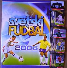 WORLD CUP 2006 GERMANY SchoolShop empty album with FULL set  stickers