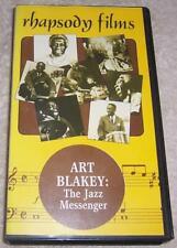 Art Blakey: The Jazz Messenger VHS Video rhapsody films