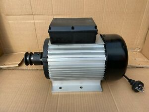 Electric Motor 1.1HP 980RPM - Ideal for Cement Mixer