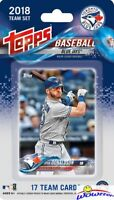 Toronto Blue Jays 2018 Topps Baseball EXCLUSIVE 17 Card Team Set -Josh Donaldson