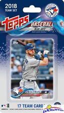 Toronto Blue Jays 2018 Topps Baseball EXCLUSIVE 17 Card Team Set -Josh Donaldson