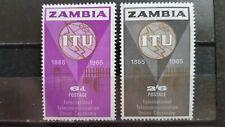 ZAMBIA 1965 mi.nr 18-19 MINT.H.