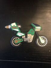Power Rangers ZEO JET CYCLE Gold Ranger Green Motorcycle Vehicle 1996 Bandai
