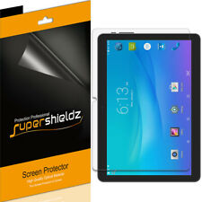 3X Supershieldz Clear Screen Protector for Onn 10.1 inch Tablet/ Tablet Pro 10.1