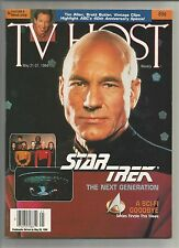 ~  1994 TV HOST TV Listings Booklet Sci-Fi Goodbye for The Next Generation Crew