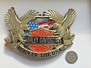HARLEY DAVIDSON RARE MASSIVE officially licensed belt buckle.