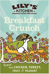 Lily's Kitchen Breakfast Crunch Dry Food for Dogs 800g Dry Dog Biscuits