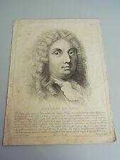 CHARLES LE BRUN // Radierung P. Zancon um 1795. 35x26 cm / RAR! Punktiermanier?