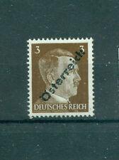 Postfrische Briefmarken mit BPP-Signatur österreichische