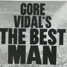 Gore Vidal Best Man 2000 Playbill Virginia Theatre Charles Durning Chris Noth