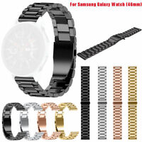 Stainless Steel Strap Metal Watch Band For Samsung Gear S3/Galaxy Watch 42/46mm