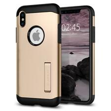 iPhone X / iPhone 10 Case, Spigen Slim Armor Cover Case - Champagne Gold