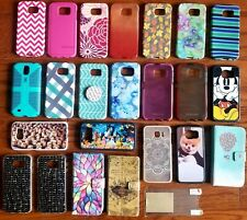 Samsung Galaxy S6 lot Cell Phone Case - 23 Cases (Speck, Wallet, Disney)