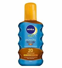 NIVEA Sun Protect Bronze Tan Activating Protecting Oil 20 Medium 200ml
