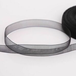 12mm Organza Ribbon Tapes For Wrapping Party Home Gift Packaging Wedding Decors