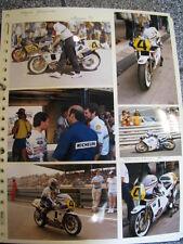 Photo Collage Rothmans Honda NS500/NSR500 1984/88 #33/4/2/1 Wayne Gardner (AUS)