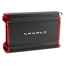 Crunch Powerzone 1800 Watt 2 Channel Car Audio Class A/B MOSFET Power Amplifier