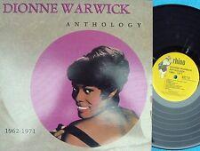 Dionne Warwick ORIG US LP Anthology 62-71 EX '84 Rhino Pop Soul Smooth Soul