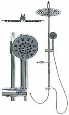 Duschset Regendusche Duschsystem Edelstahl Duschstange Duscharmatur Brause Chrom