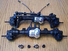 Traxxas TRX-4 Crawler Portal Axle Housing T-Lock Diff Front & Rear Bronco Blazer