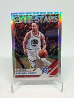 2019-20 Optic Stephen Steph Curry Silver Prizm SP Refractor Warriors