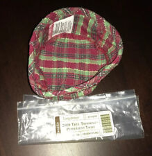 New Longaberger 2009 Peppermint Twist Tree Trimming Fabric Liner For Basket Nip