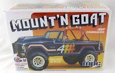1:25 Scale Mount'N Goat Jeep Commando Plastic Model Kit (Skill 2) - MPC #887/12