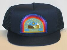 Alien Movie U.S.C.S.S. Nostromo Officer Logo Patch on a Blue Baseball Cap Hat