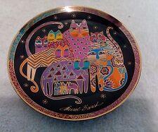 Franklin Mint, Favulous Felines Plate by Laurel Burch 1994