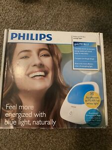 Philips GoLite BLU Energy Light Therapy Lamp HF3422 With Manual Tested