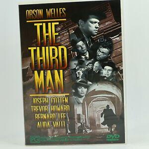 The Third Man Orson Wells Joseph Cotten Classic DVD R4 GC