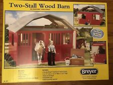 NEW Breyer Two Stall Wood Barn for Traditional Series Horses, Factory Sealed!!