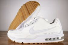NEW Nike Air Max LTD 3 TXT Shoes White Gum Brown Pure Platinum Men's Size SZ 9.5