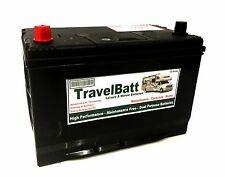 12V 120AH TB120 HD Deep Cycle Leisure Battery Caravan Mover Powrtouch Evolution