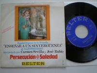 Hear! SANTISTEBAN Persecucion TOP JAZZ GROOVE BOSSA SCAT 45 OST 1970 Mint!! FUNK